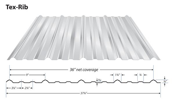 U Panel Metal : Rib roof panel r is a multi use wall and